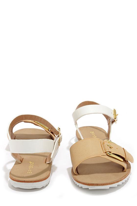 b3cf82d514cc Cute Flat Sandals - Ankle Strap Sandals -  21.00