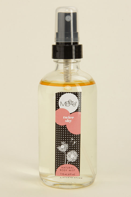 Mbeze Twice Shy Natural Body Mist at Lulus.com!