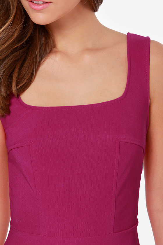 LULUS Exclusive Body Language Magenta Bodycon Dress at Lulus.com!