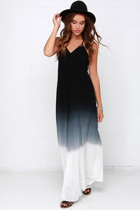 Boho Dress - Casual Dress - Maxi Dress - Ombre Dress - $66.00