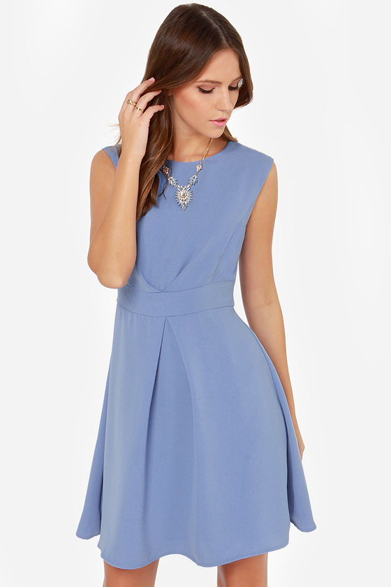 Darling Keeley Dress - Periwinkle Dress - Blue Dress - $83.00