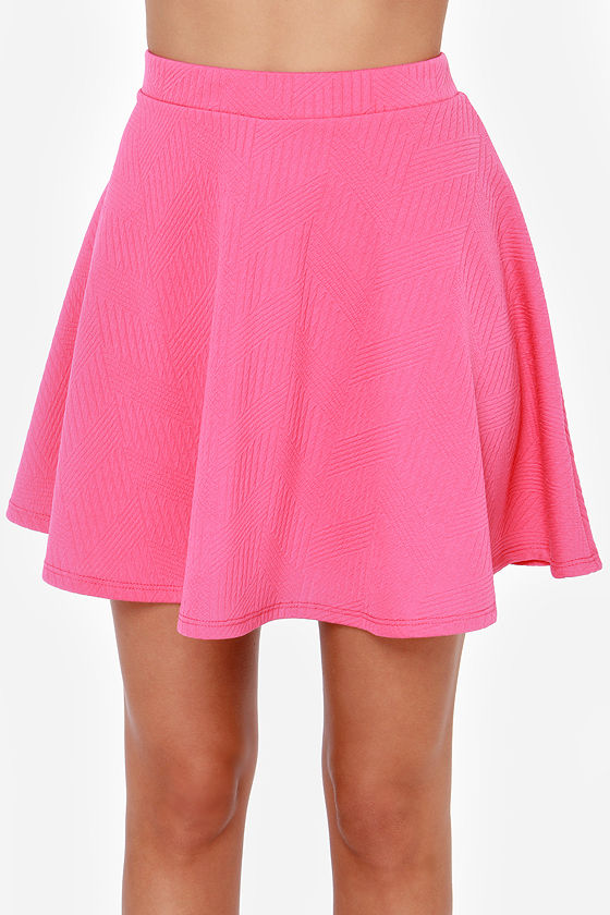 Dolly Pardon Me Hot Pink Skirt at Lulus.com!