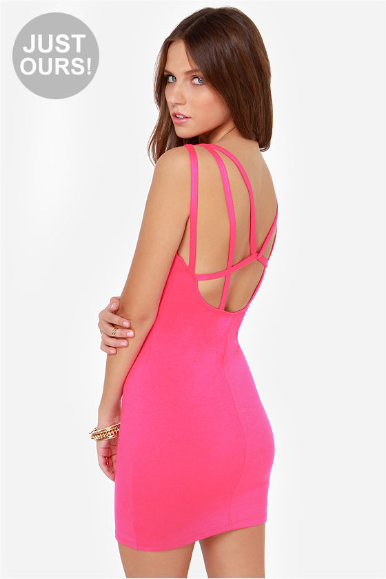 Sexy pink dresses for women