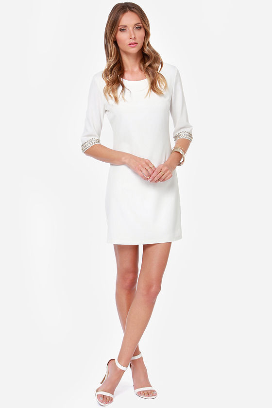 LULUS Exclusive Sleeve-ing Beauty Ivory Dress at Lulus.com!