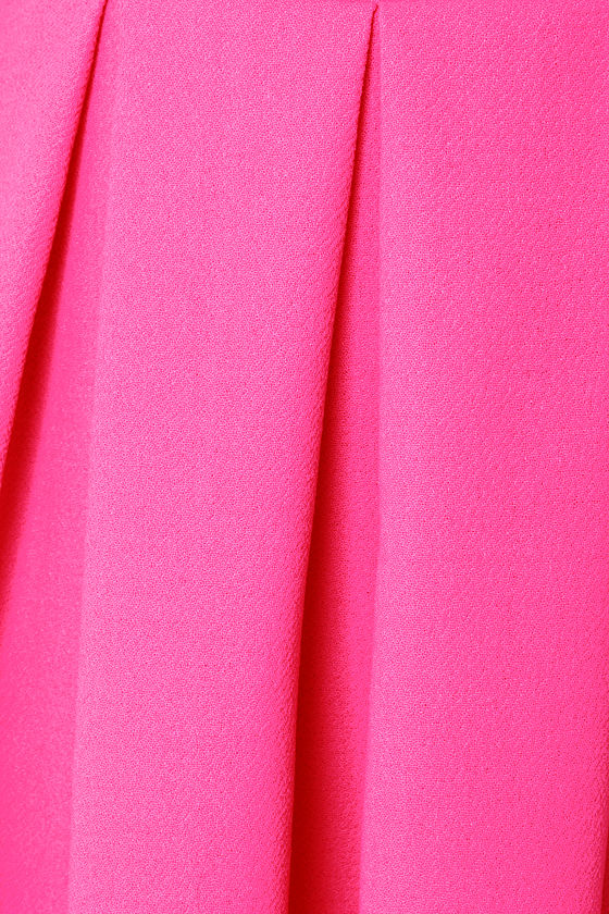 LULUS Exclusive Test Drive Neon Pink Dress at Lulus.com!