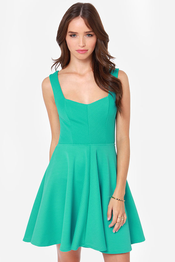 Others Follow Grainline Sea Green Dress at Lulus.com!