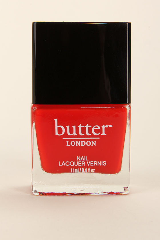 Butter London Ladybird Red Nail Lacquer at Lulus.com!