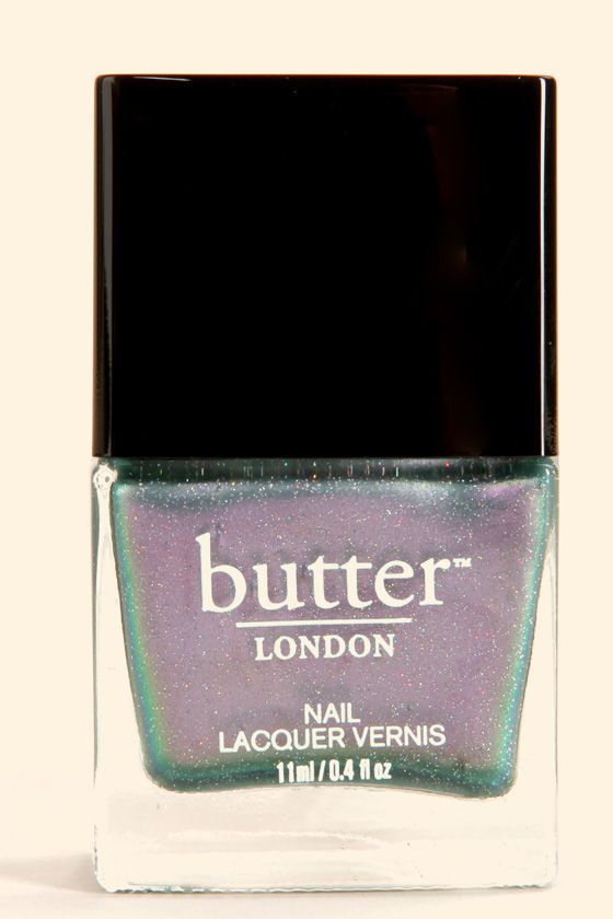 Butter London Knackered Glitter Nail Lacquer at Lulus.com!