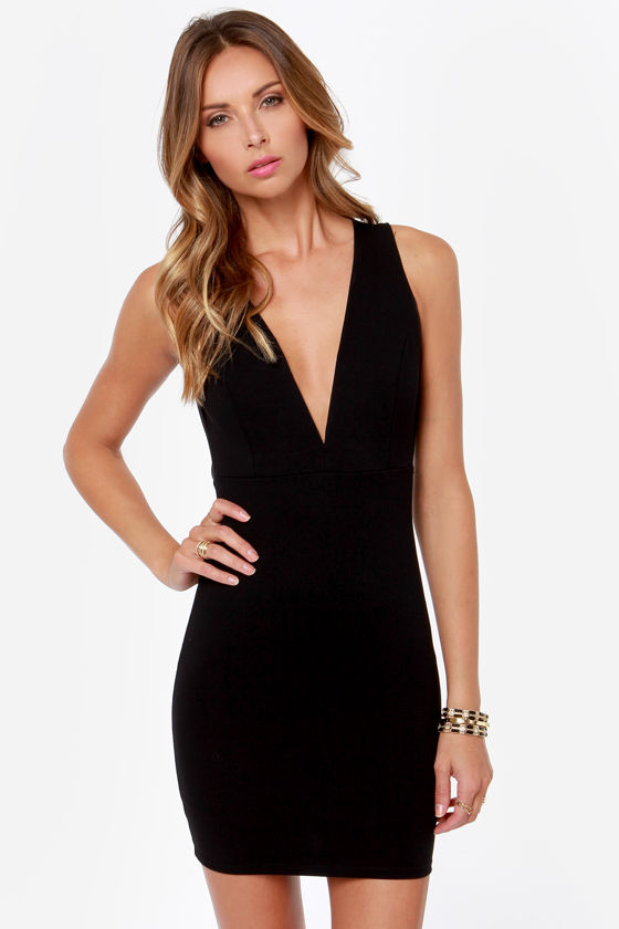 Backless Little Black Dress