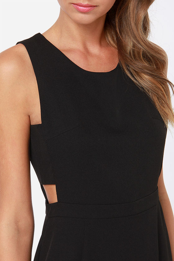 LULUS Exclusive Notch So Cool Black Dress at Lulus.com!