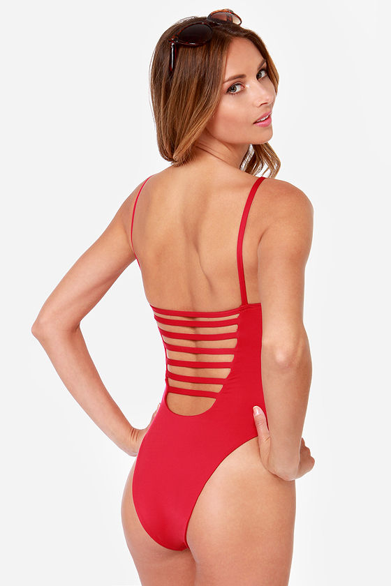Blue Life Malibu Crush Red One Piece Swimsuit at Lulus.com!