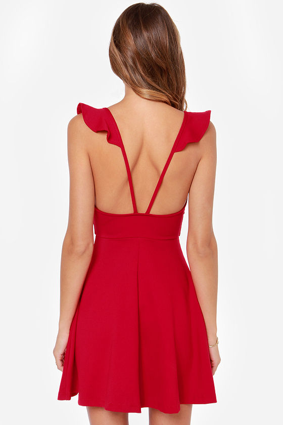 Leave a Light On Red Dress at Lulus.com!
