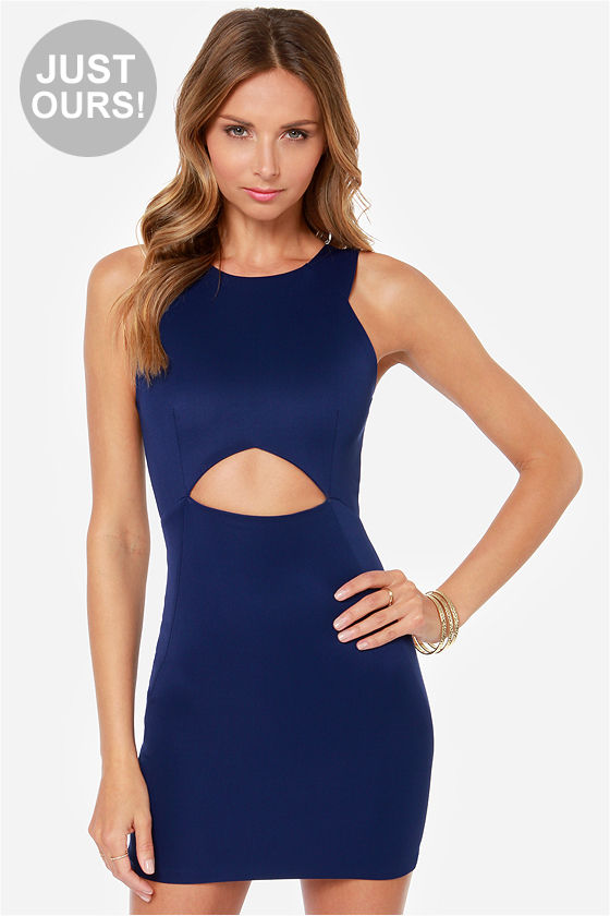 Chic Blue Dress Chic Ahead Navy Blue Dress