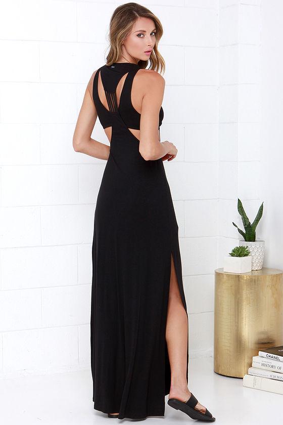 Night Moves Black Dress