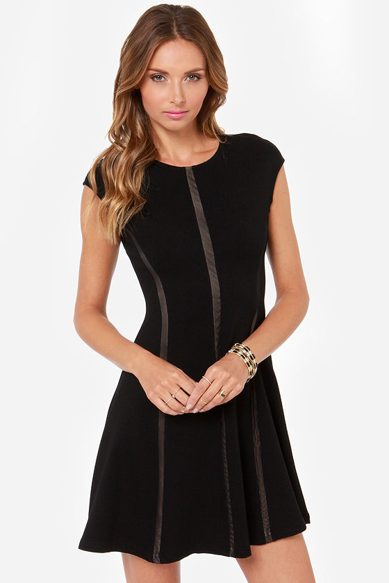 Let's Celebrate Black Dress at Lulus.com!