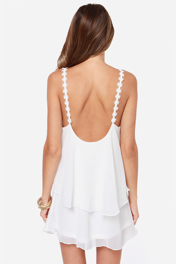 Daisy-ing is Believing Ivory Dress at Lulus.com!