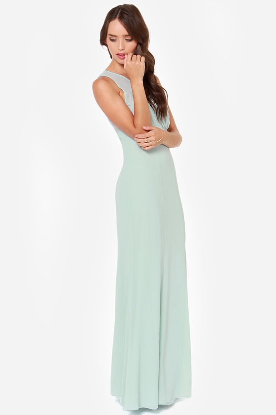 LULUS Exclusive Let's Dance Mint Maxi Dress at Lulus.com!