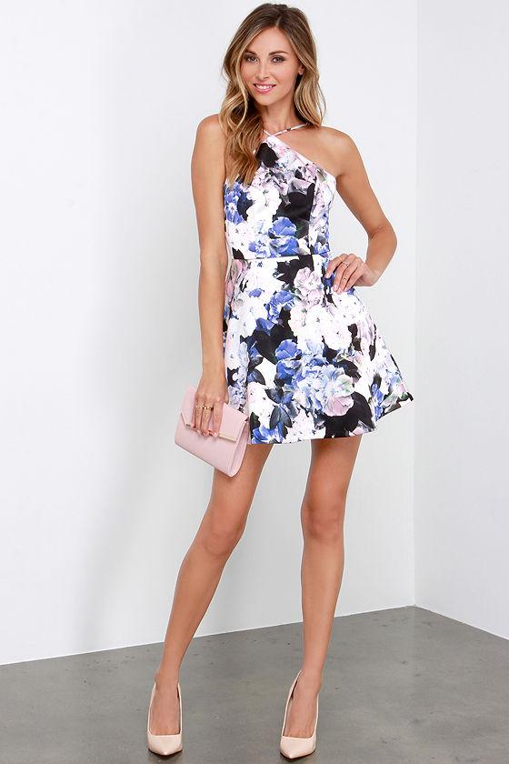 c22bff00b4 Keepsake Crossroads Dress - Floral Print Dress - Skater Dress -  178.00
