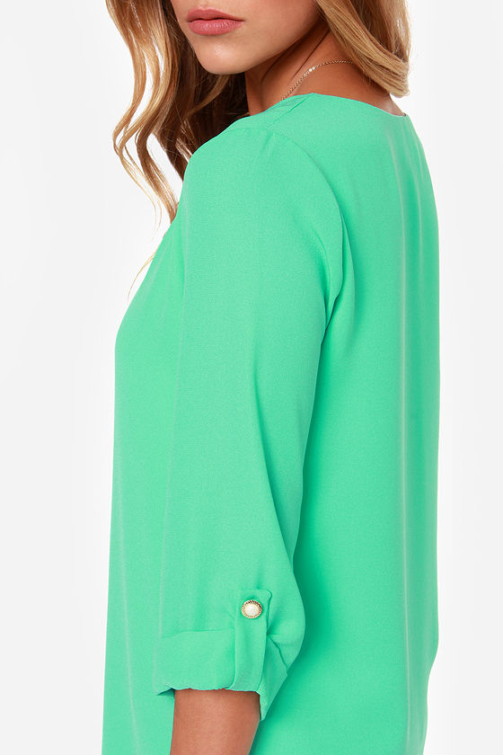 By All Means Mint Green Shift Dress at Lulus.com!