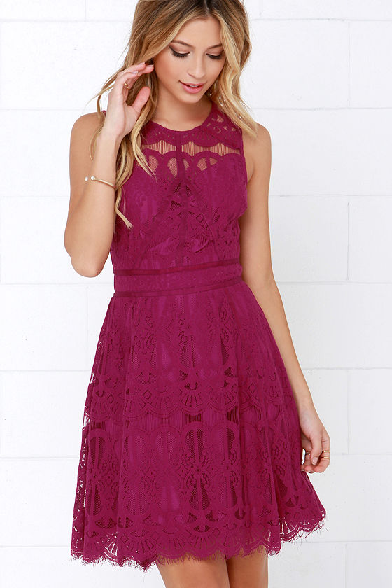 Magenta Dress What Color Shoes