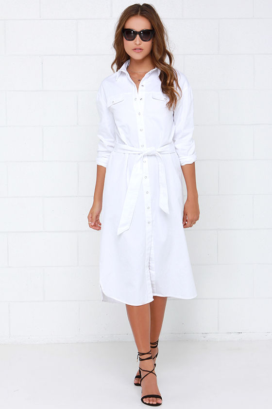 Classic white shirts for women