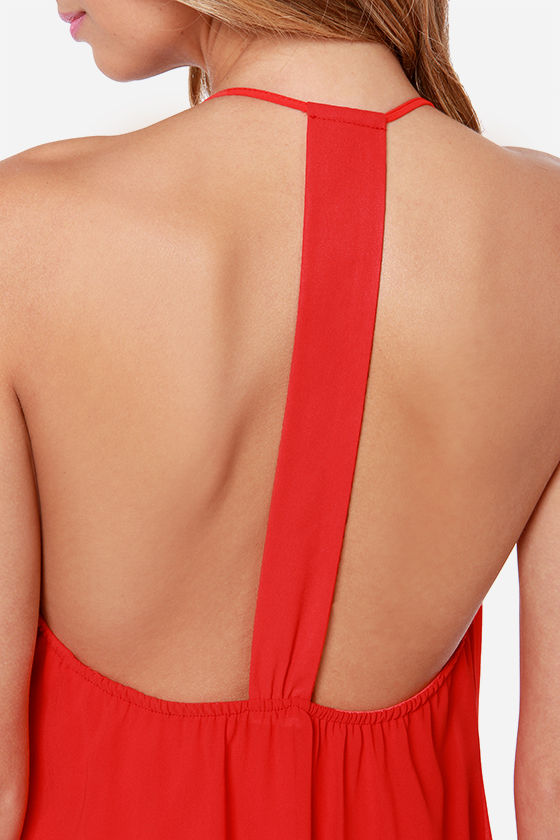 LULUS Exclusive Piece of Paradise Red Dress at Lulus.com!