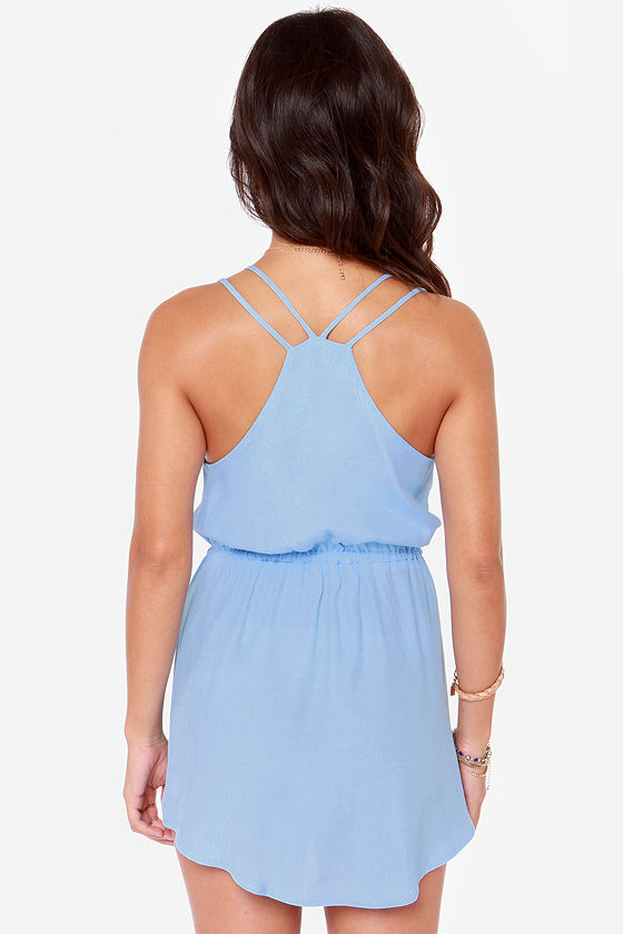 Lucy Love Dream Cloud Periwinkle Dress at Lulus.com!
