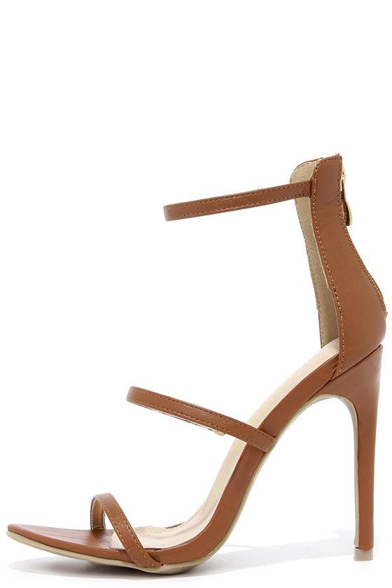 High Sexy Tan Sandals 00 Heels Dress Heel32 dhQrts