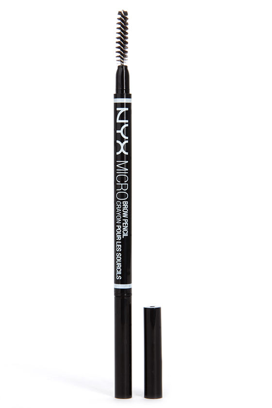 nyx eyebrow pencil. nyx auburn micro brow pencil 1 nyx eyebrow