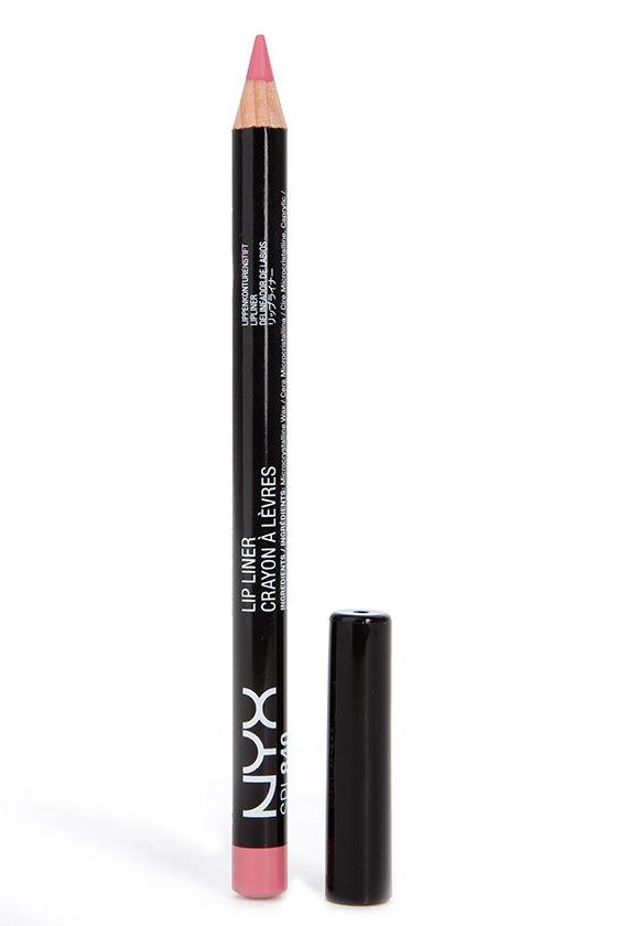 NYX Rose Slim Lip Pencil 1