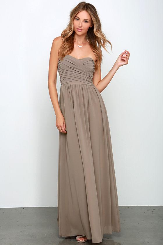 Mocha Prom Dresses