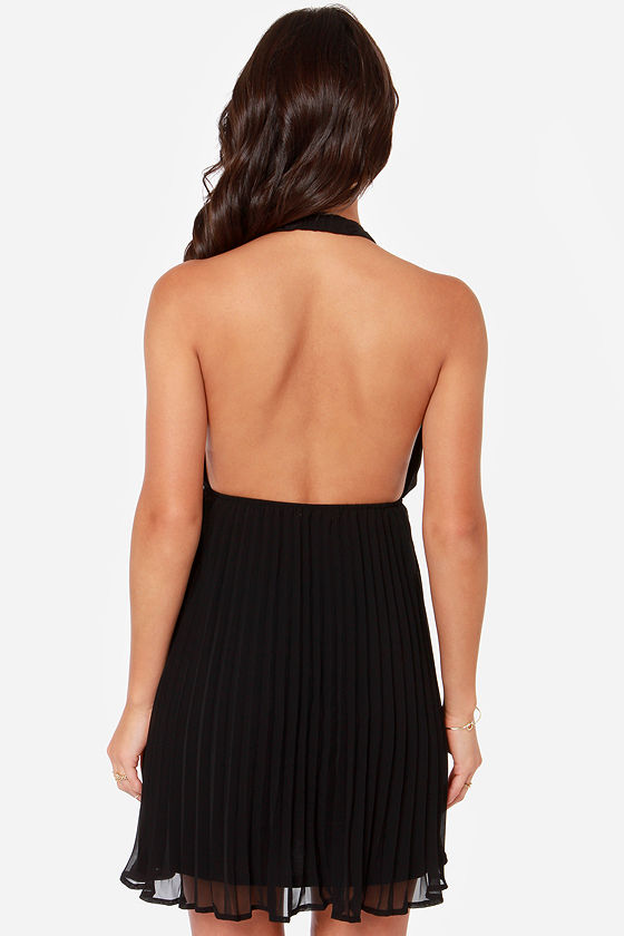 LULUS Exclusive My Marilyn Black Halter Dress at Lulus.com!