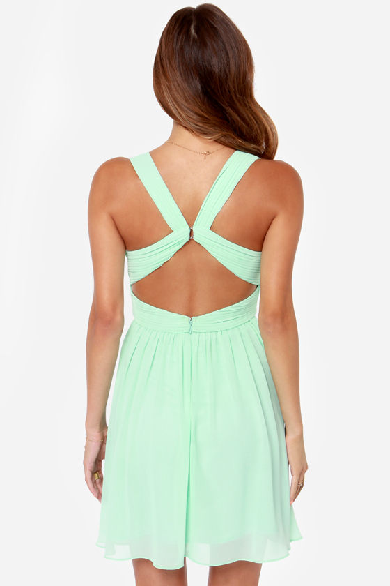 LULUS Exclusive Paths Cross Mint Dress at Lulus.com!