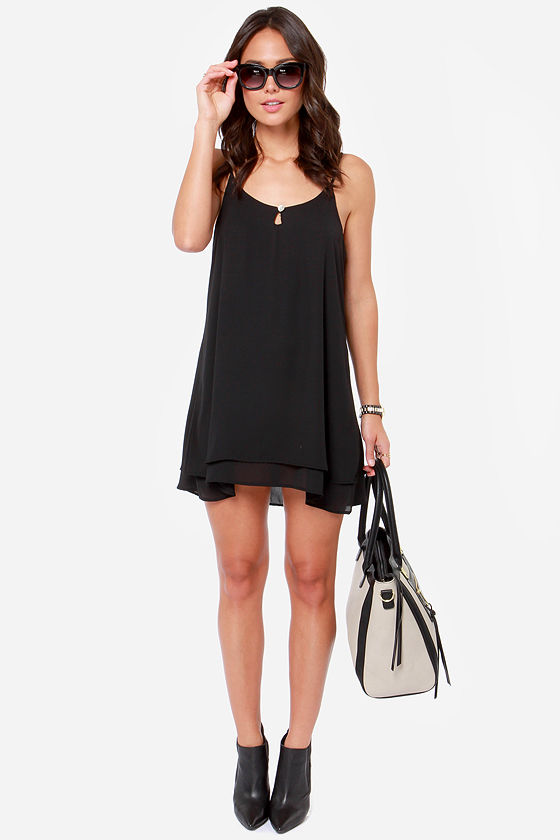 Lucy Love Gabby Black Dress at Lulus.com!