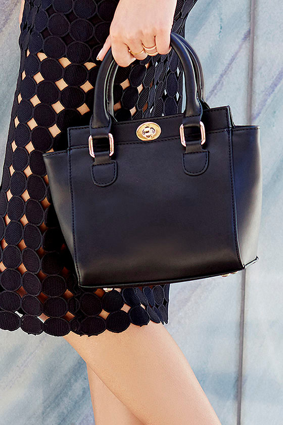 e1c3997ee Chic Black Purse - Winged Purse - Mini Handbag - $47.00