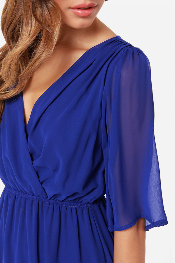 All of Me Royal Blue Midi Dress at Lulus.com!