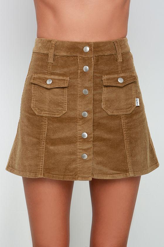 Brown Corduroy Skirt 52