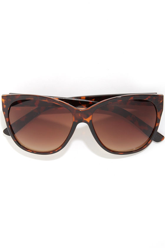 Cute Tortoise Sunglasses - Tortoiseshell Sunglasses