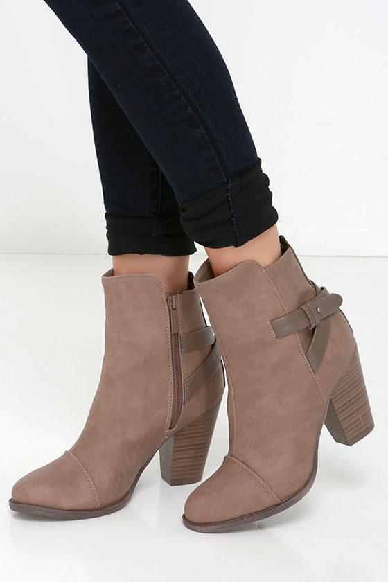 cute beige boots high heel boots ankle boots. Black Bedroom Furniture Sets. Home Design Ideas