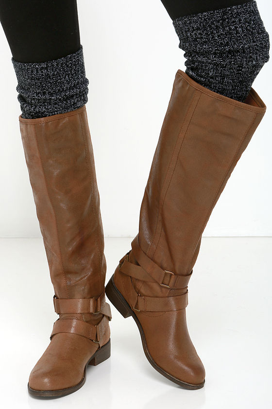 40b124f070d9 Cute Brown Boots - Knee-High Boots - Riding Boots -  79.00