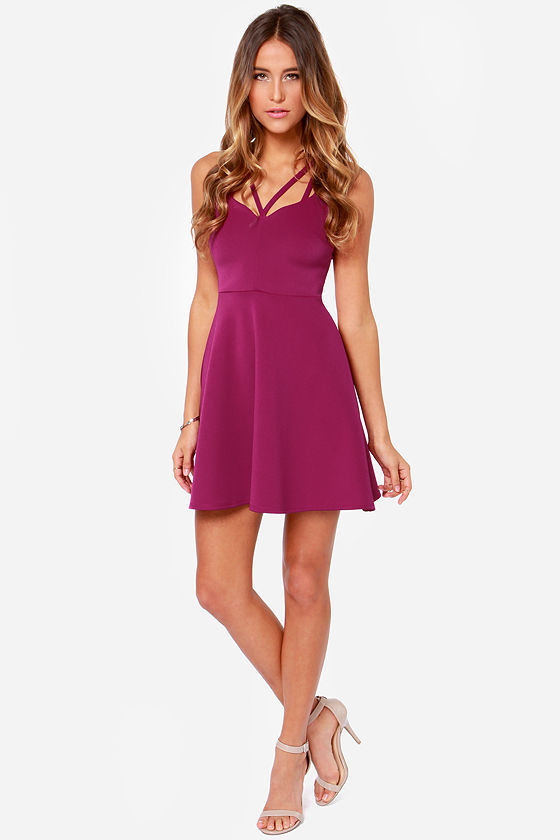 LULUS Exclusive Get it Girl Berry Purple Dress at Lulus.com!
