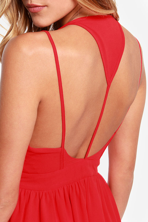 LULUS Exclusive L.A. Lady Red Dress at Lulus.com!