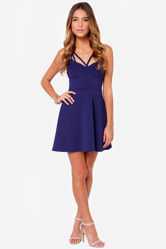 LULUS Exclusive Get it Girl Royal Blue Dress at Lulus.com!