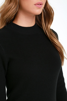 Mink Pink Ultimate Dress - Black Dress - Sweater Dress - Long Sleeve ... 706c41111