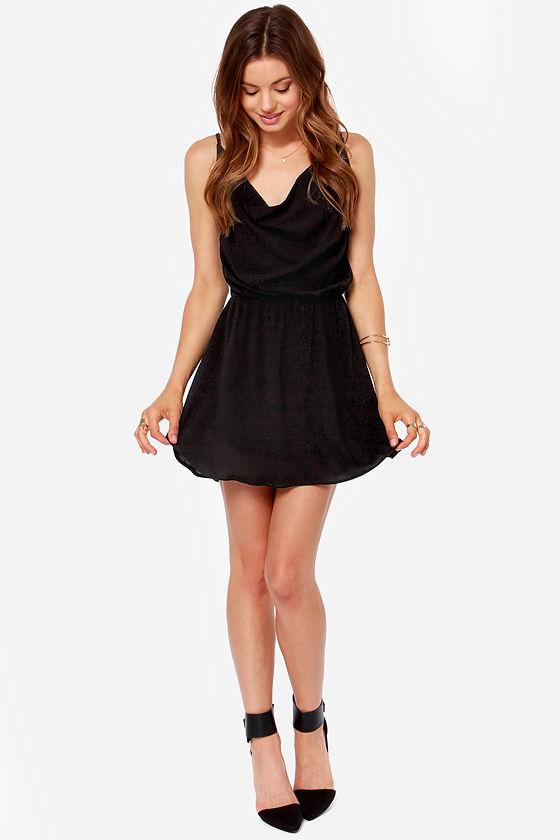 LULUS Exclusive In Too Deep Black Dress at Lulus.com!