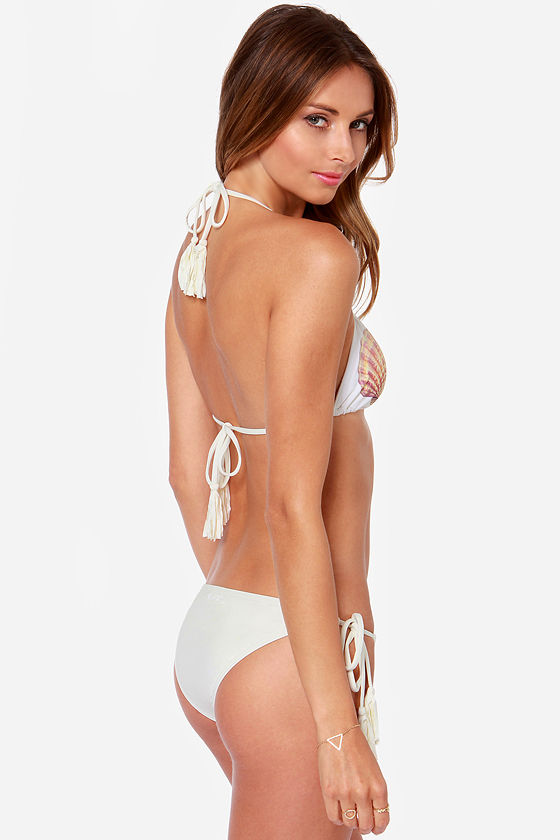 Billabong Seashell Cream Bikini at Lulus.com!