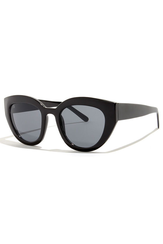 Maybe Black Sunglasses at Lulus.com!