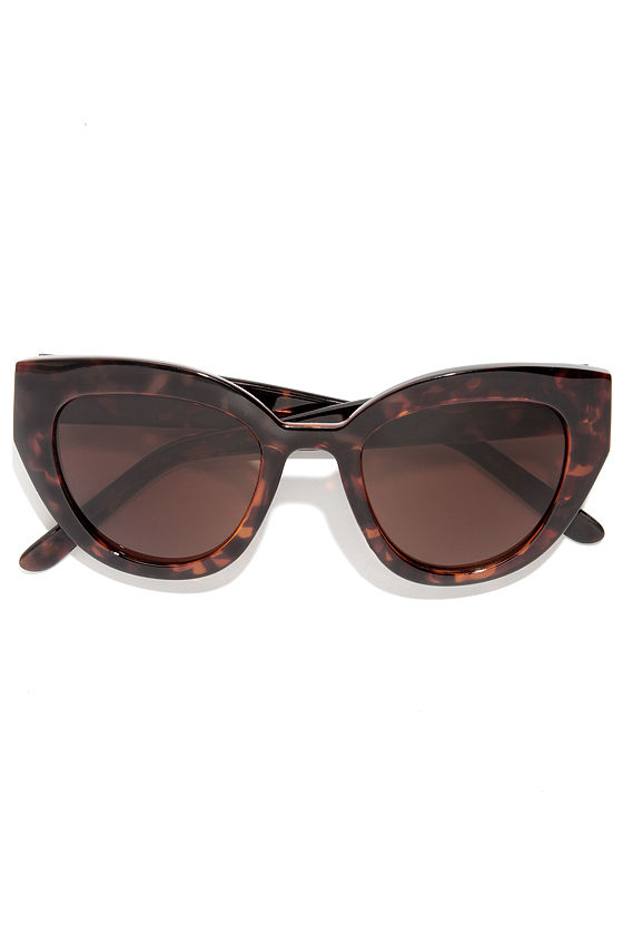 Maybe Tortoise Sunglasses at Lulus.com!