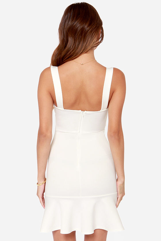 First Date Ivory Dress at Lulus.com!