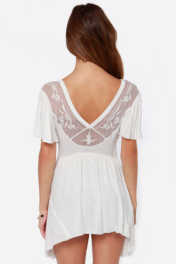 End-lace Possibilities Lace Top at Lulus.com!